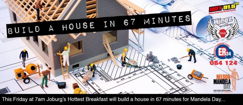 Mandela Day House Build Project